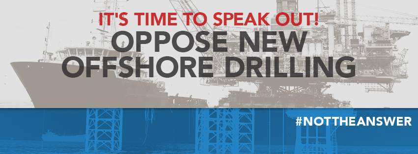Say NO to new oil/gas/seismic in the Atlantic