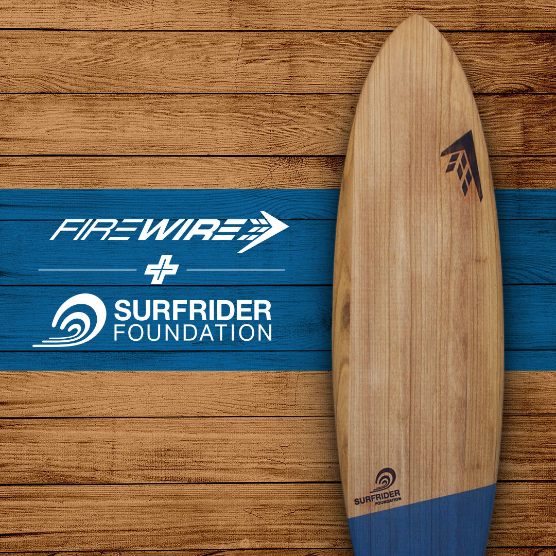 Surfrider Foundation and Firewire Collaborate on World's Most Eco-friendly Surfboard